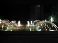 48 Fountaine in Salou at night